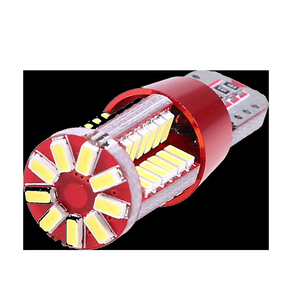 Bombillo LED T10 de 57 LEDs - Cambio de luces