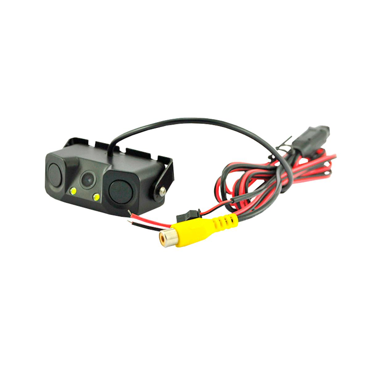 Sensor De Reversa Con Cámara, parquea facil